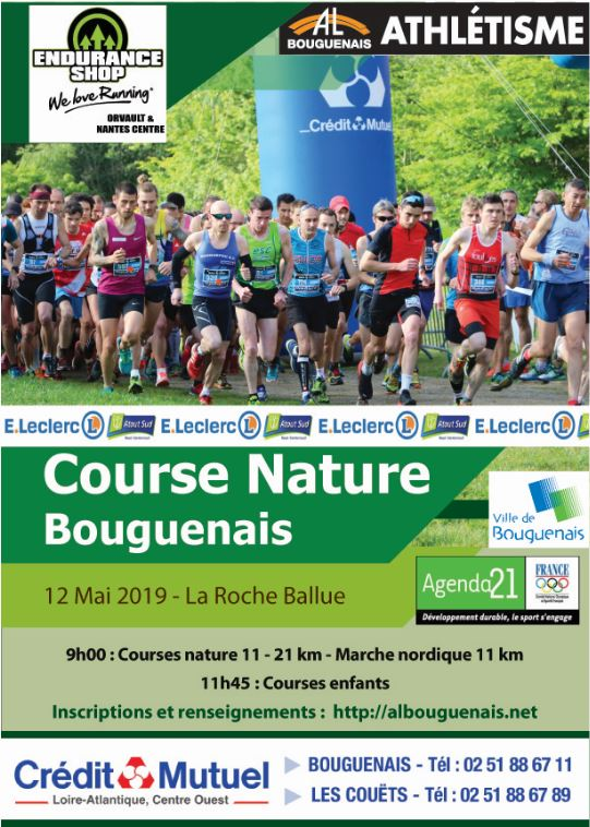 Course Nature Bouguenais 2019